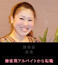 渋谷店 店長